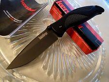"""Kershaw Blackout Ken Onion Assisted Open Pocket Knife 14C28N 1550 7 3/4"""" Op GFN"""