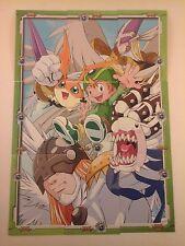 DIGIMON ADVENTURE Japan 9 Card Puzzle Set T.K.-Patamon-Tokomon-Magnaangemon-Ange