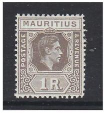 More details for mauritius - 1949, 1r drab stamp - m/m - sg 260c