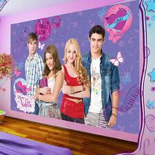 Poster papiers peints photos papier peint la fresque papier peint Disney violetta & Friends 468 p4