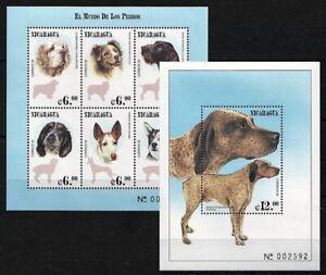 Nicaragua 2000 MNH MS+SS, Dogs, Pets, Farm, Domestic Animals