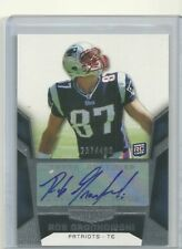 2010 Topps Unrivaled Rob Gronkowski Rookie Autograph 237/480 Patriots