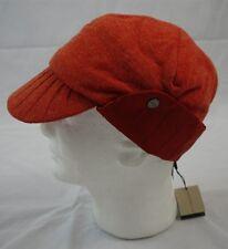 "NWT Burberry ""Hannah"" Trapper Style Cap ""Tangerine"" Color sz. S $250"