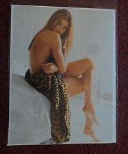 1993 Full Photo Page Celebrity Magazine Clipping ~ Cindy Crawford Sexy Model