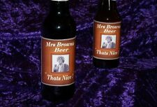 MRS BROWNS BOYS BEER LABELS  TV series episode gift choice BROWN LARGE X2