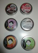 CRAZY AARON'S Mini Thinking Putty ~ USA ~ Winter Cabin, Candy Cane, CHOOSEothers