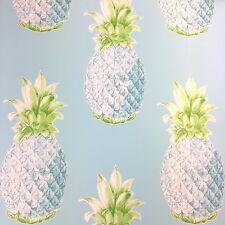 Aloha Turquoise Pineapple Wallpaper by A Street Prints - FD24137
