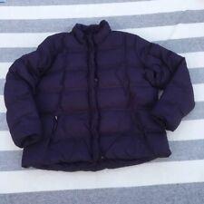 Eddie Bauer 2x Purple Goose Down Puffer Coat Winter Jacket Women's