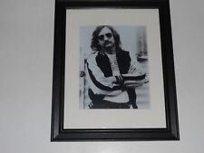 "Large Framed Joe Walsh 1972 Poster James Gang, Eagles (Arms Crossed) 24"" by 20"""