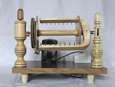 Electric spinning wheel wooden Handmade New Yarn vintage