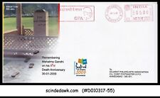 INDIA - 2009 61st Death Anniversary of Mahatma GANDHI Special cover with special