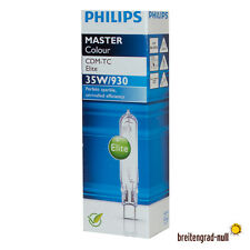 10x Philips Master Colour CDM-TC 35 Watt G8.5 930 Elite WDL HCI-TC HQI HCI