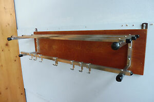 Vintage Antique Coat Rack Art Deco Coat Rack Vintage Oak Wood