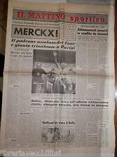 IL MATTINO SPORTIVO 21 luglio 1969 Merckx a Parigi Tour de France Salernitana