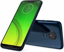 Motorola Moto G7 SUPRA - 32GB -Xt1955  Marine Blue (Cricket Wireless) Smartphone