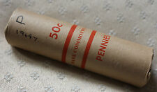 "1964Y. Penny Original ""Commonwealth Bank Roll"" (60 Coins) UNC-GEM UNC. Rare"
