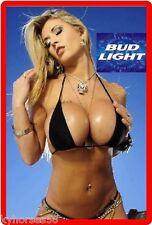 Bud Light Beer Babe Refrigerator Magnet
