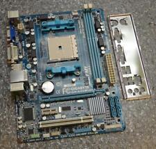 Placa Madre Gigabyte GA-A55M-DS2 REV:1.1 Socket FM1 completo con placa trasera de E/S