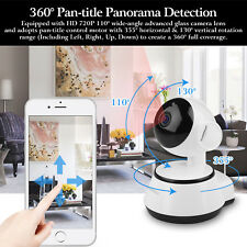 Wireless HD Pan/Tilt IP Security Camera Network CCTV Night Vision WiFi Webcam