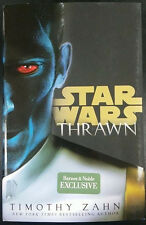 STAR WARS: THRAWN Barnes & Noble Exclusive by Timothy Zahn + Poster