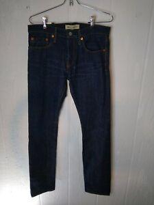 Gap Mens Kaihara Japanese Selvedge Button Fly Skinny Cotton Blue Jean 1969 30x30