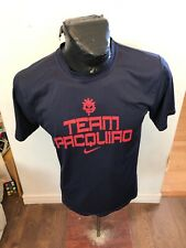 Vintage T-Shirt MENS Size XLarge Nike Team Pacquiao Manny Pacquiao BoXing