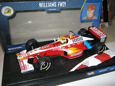 1:18 Williams Mecachrome FW21 R. Schumacher 1999 HotwheelsF1 24622 OVP new
