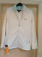 womens white regatta Fleece hoodie/jacket size 14