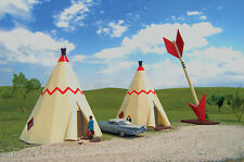 Bachmann Scene Scapes H O Building Teepee Hotel 35205 NEW