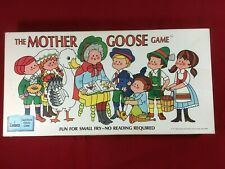 The Mother Goose Board Game 1971 Cadaco No. 310 Incomplete