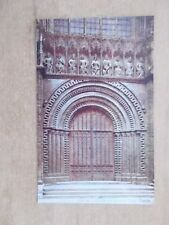 VINTAGE POSTCARD - CATHEDRAL WEST PORCH - LINCOLN