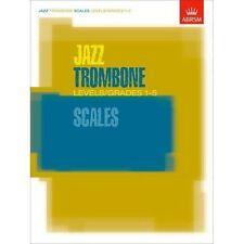 ABRSM Jazz Trombone Scales Grades 1-5 Exam Music Book