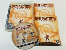 Red Faction: Guerrilla (Sony PlayStation 3, 2009) PS3 Complete, tested
