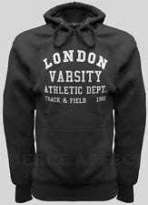 Pullover Hoodie Hooded Sweatshirt LONDON VARSITY Design Top Hoody Jumper