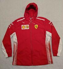 90s PUMA Scuderia Ferrari Zip Up Hoodie Racing Jacket Men's size 2XL 762365-01