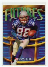 TERRY GLENN 1998 TOPPS FINEST FUTURES FINEST REFRACTOR SP 8/75 PATRIOTS