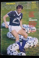 France Football du 17/01/1984; Euro 84/ l'année Lacombe/ Delios Onnis/ Wolves