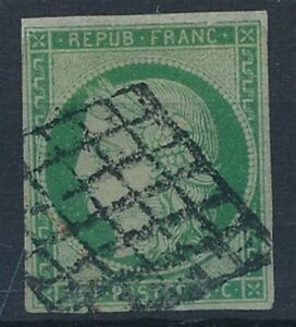 [7554] France 1850 good stamp fine/very fine used value $1300