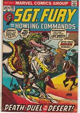 Sgt Fury and His Howling Commandos #107 1973 Bronze Age Marvel War Comic