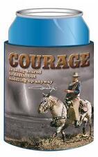 "JOHN WAYNE ""THE DUKE"" COURAGE Can Cooler Coolie Beverage Insulator Huggie NEW"