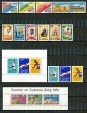 Nederlandse Antillen Jaargang 1981 postfris
