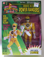 "Power Rangers - Trini - 8"" Karate Choppin - w/Logo Badge"