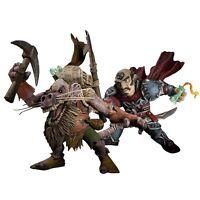 world of warcraft wow figurine figure serie 8 S.8  gnome rogue kobold miner