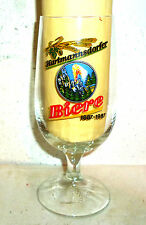 VEB Brauerei Hartmannsdorf 100 Years Brewery East German Beer Glass