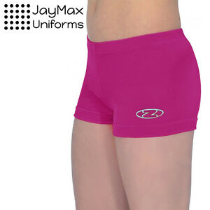 THE ZONE GYMNASTIC SHORTS HIPSTER Z2000 SMOOTH VELOUR DANCE GYM ROCH VALLEY