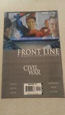 Civil War Frontline #2 August 2006 Marvel Comics Jenkins Bachs Lieber Kano