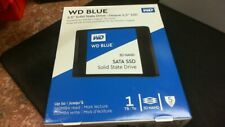 """WD - Blue 1TB Internal SATA 2.5"""" Solid State Drive Sealed. Free Shipping . New"""