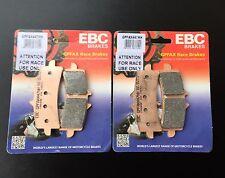 2x EBC GPFAX 447 HH Pastillas De Freno De Carreras BMW S 1000 RR HP4,1200 HP2,