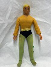 """Vintage 1974 Mego Aquaman -All Original 8"""" Action Figure ~DC Comics"""