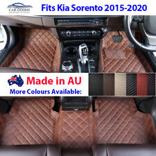 AU Made 3D Tailored Customised Floor Mats Multi-Colours For Kia Sorento 15-20